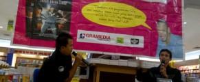 Bedah Buku@Gramedia Amplaz